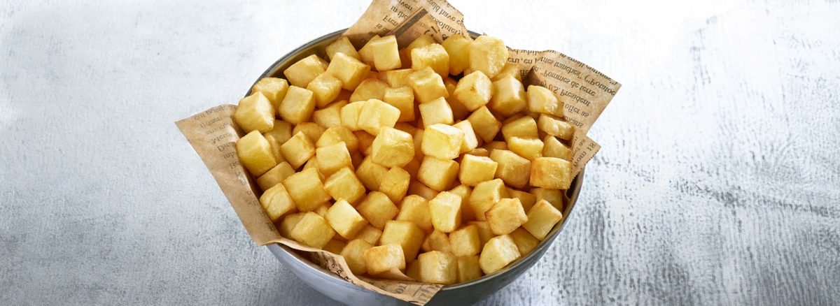 Easy Oven Potato Cubes