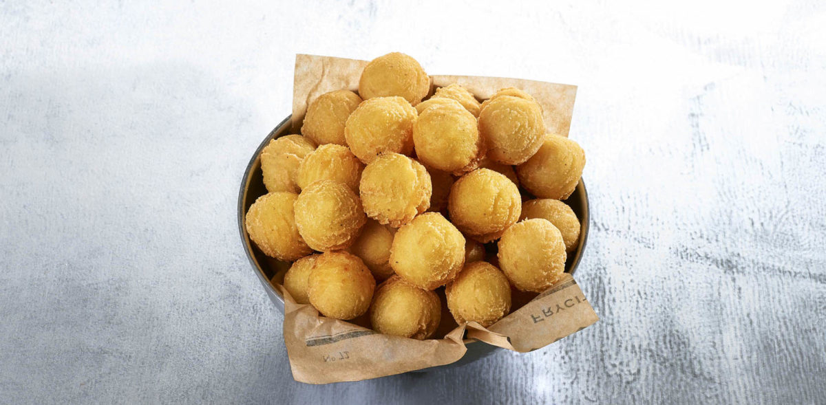 Rounded croquettes