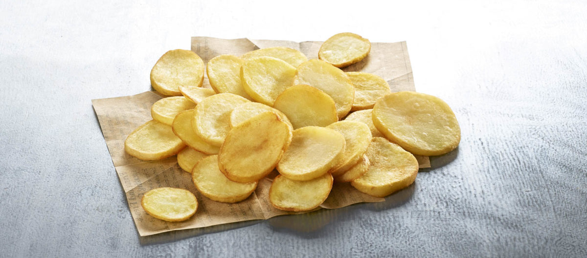 Easy Oven Potato Slices