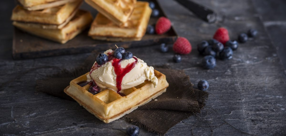 Mini Brussels Waffles